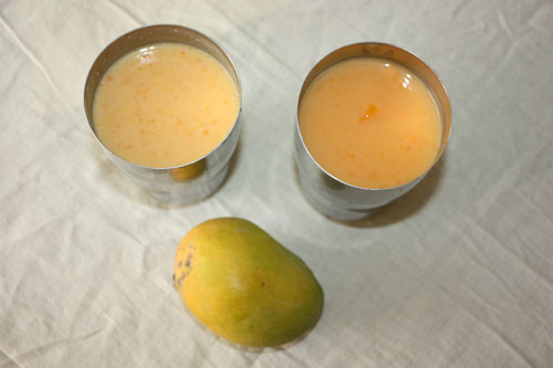 Aamras or Mango Shake and Mango Lassi Recipe- 28 Apr 12
