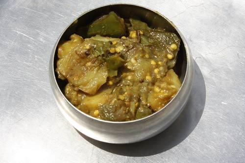 Alu Baingan Rezept - Kartoffeln mit Auberginen - 5 May 12