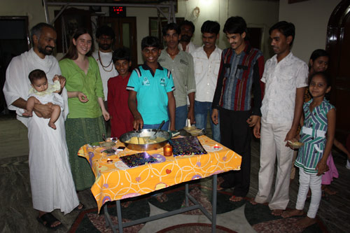 Summer Holidays – Jaysingh's Birthday Celebration and Computer Education – 4 Jun 12