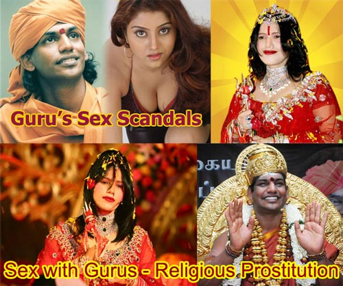 Sex with Gurus - Religious Prostitution - 15 June 2012