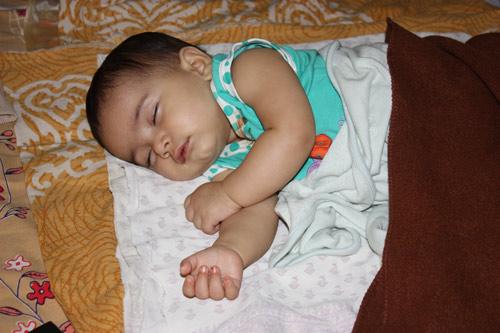 Brief an meine sieben Monate alte Tochter Apra - 15 Aug 12