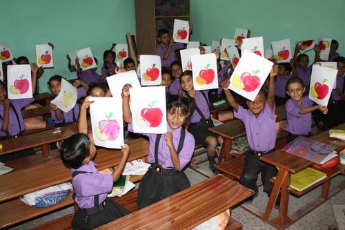 Violent Teachers teaching about non-violent Gandhi – Corporal Punishment in Indian Schools – 3 Oct 12