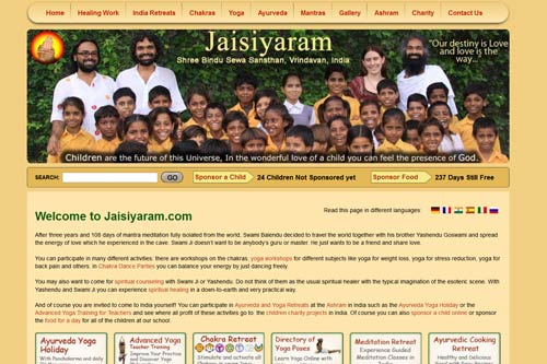 Internetseite unten, Mails kommen zurück – was war mit Jaisiyaram.com passiert? – 1 Nov 12