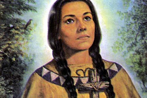 Converted Native American Saint refuses helping Non-Catholics - 8 Nov 12