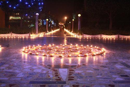 Diwali Feier im Ashram – 14 Nov 12