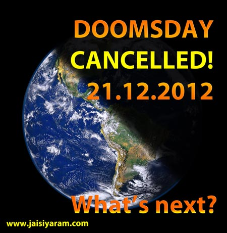 Doomsday is cancelled - new Business for modern Gurus - 21 Dec 12