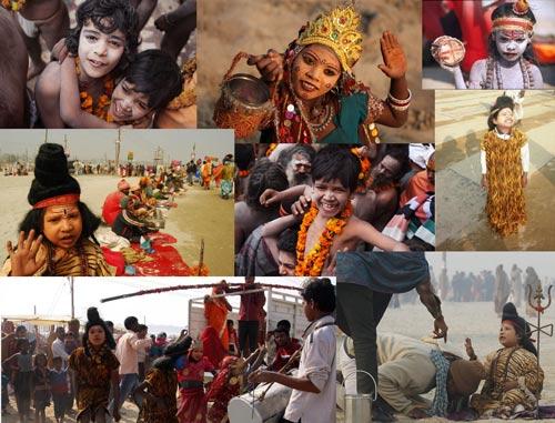 Religion destroying the Lives of Children at the Kumbh Mela - 22 Jan 13