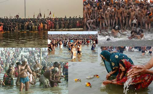 Washing off more than Sins - Polluting the Ganges at the Kumbh Mela and inviting Diseases - 28 Jan 13