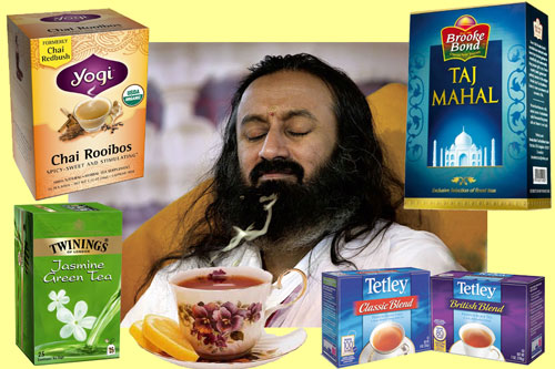 Sri Sri Ravi Shankar is all knowing like God - that's why he has to steal Tea! - 21 Feb 13