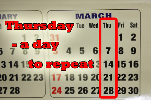 Aberglaube verbietet euch, kranke oder verletzte Freunde an Donnerstagen zu besuchen - 7 Mar 13