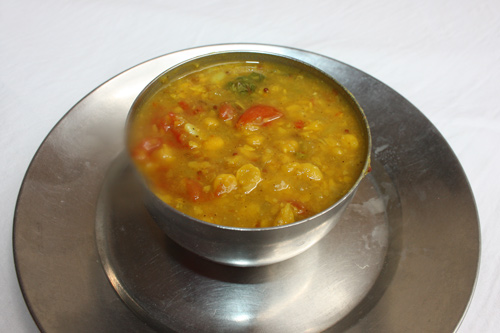 Lauki Chana Dal Recipe - Split Chickpeas with Bottle Gourd - 30 Mar 13