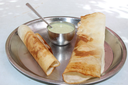 Dosa Recipe - Indian-style Rice-Crepes - 20 Apr 13
