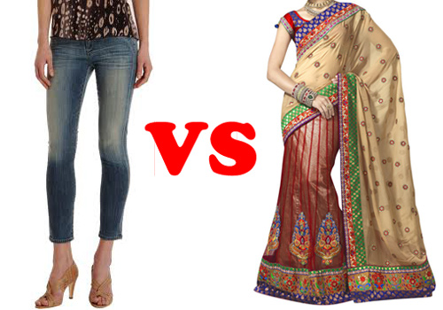 Jeans for your Daughter but a Sari for your Daughter-in-Law? - 30 Apr 13