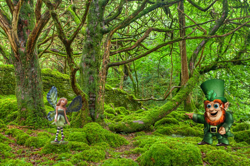 Ireland - the Island of Fairytales with its lively and humorous inhabitants - 12 May 13