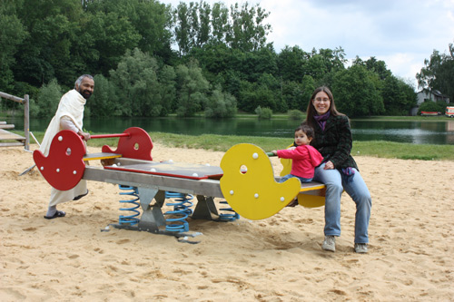 Fun in Augsburg - Report of our second Week in Germany - 31 May 13