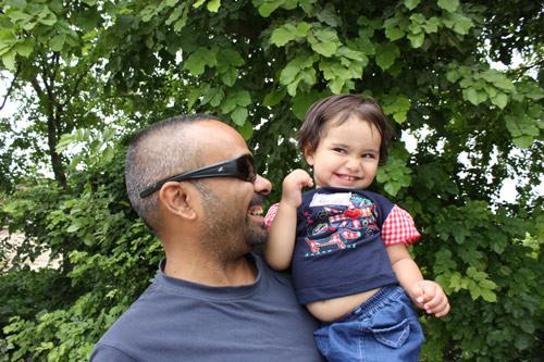 Rückkehr in den Ashram - Home sweet Home - 26 Jun 13