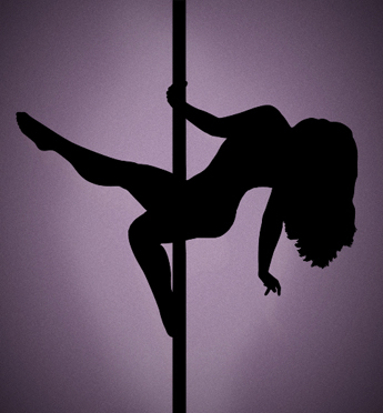 When a Pole Dancer did a sexy Dance just for me alone - 18 Aug 13