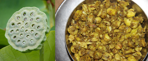Kamal Gatta - Recipe for a delicious Dish of Lotus Seeds - 7 Sep 13