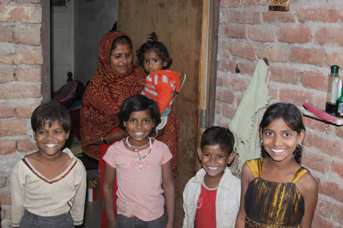 Five Girls were born in the Hope for a Son - Our School Children - 8 Nov 13