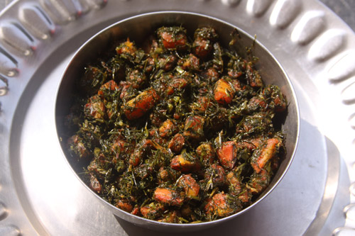 Soa Gajar - Recipe for Dill with Carrots - 9 Nov 13