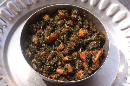 Soa Gajar - Rezept für Dill mit Karotten - 9 Nov 13