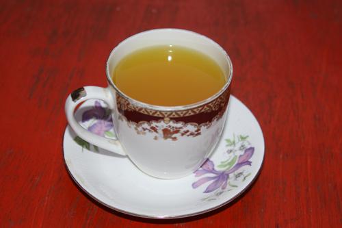 Ayurvedic Hot Lemon Tea Recipe - Winter Tea against Cough, Throat Ache and Cold - 30 Nov 13