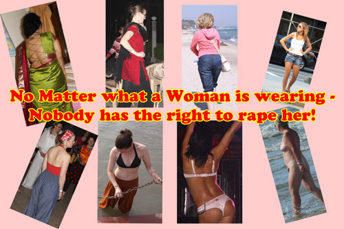 A Woman's Clothing is not the Reason for Rape and sexual Harassment! – 22 Jan 14