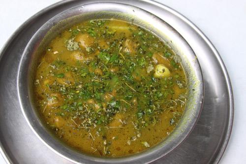 Alu Soya ki Badi - Rezept für Kartoffeln mit Soja Brocken - 15 Feb 14