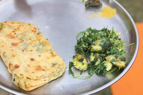 Aloo Dhania - Potatoes with Coriander - 10 May 14