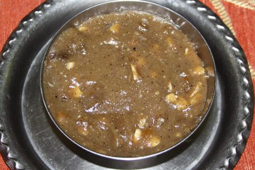 Makhana ka Halwa - Recipe for Foxnut Seed Desert - 5 Jul 14