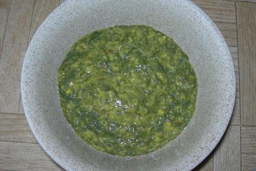 Soa Mung Dal - Rezept für Mungbohnen mit Dill - 23 Aug 14