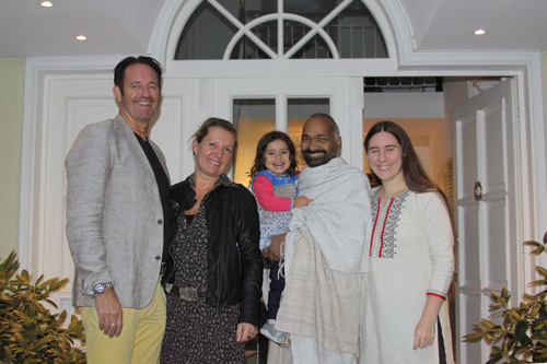The Party for which I especially came from India - 15 Sep 14