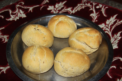 Recipe for Cumin Bread Rolls - Kreuzkümmel-Brötchen - 4 Oct 14