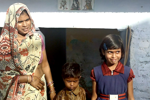 One House, four Rooms, four Families - Our School Children - 14 Nov 14