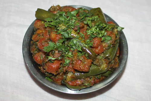 Gajar Baingan - Recipe for Carrots with Eggplant - 13 Dec 14