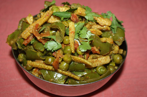 Recipe for an Italo-Indian mixed Vegetable Dish - 20 Dec 14