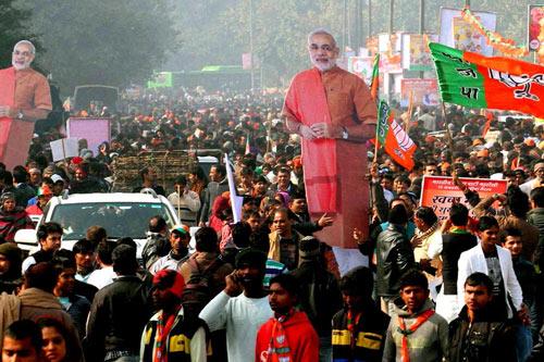 Wenn der Politiker den Guru ersetzt – Menschenverehrung in Indien – 16 Feb 15
