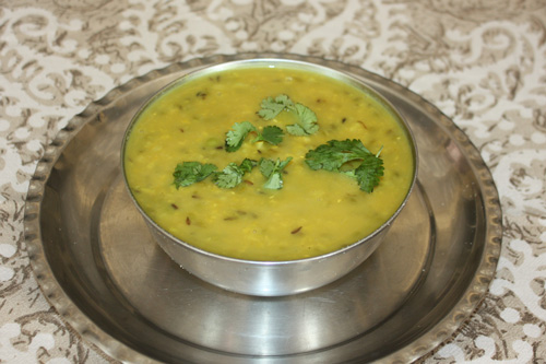 Khichadi - Recipe for a Nutritious Mixture of Lentils and Rice with some Vegetables - 21 Feb 15