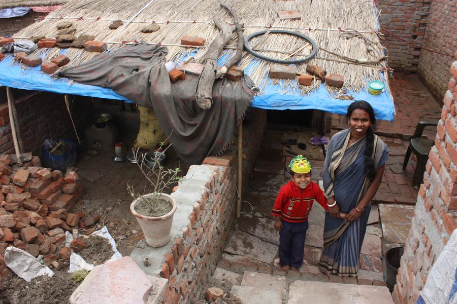 Leaving two Children behind to find Work - Our School Children - 13 Mar 15