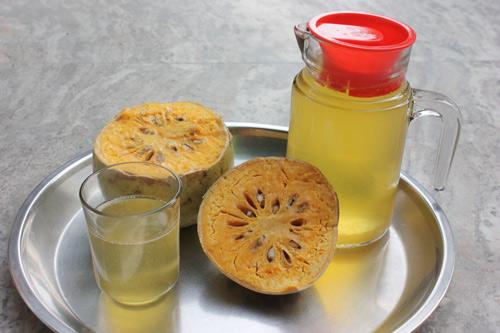 Bael Shikanji - Recipe for Bengal Quince Lemonade - 18 Apr 15