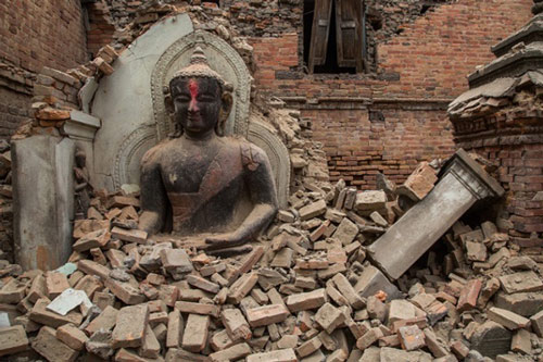 Praying for Earthquake Victims in Nepal? To whom? The one who caused it all? - 27 Apr 15