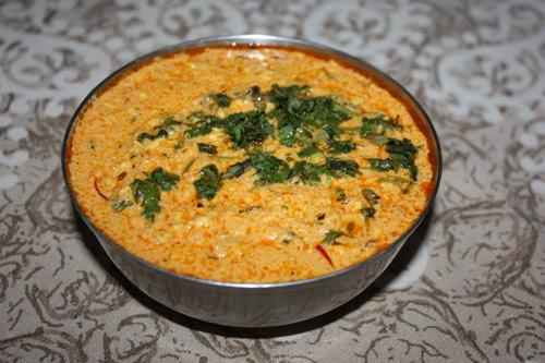 Badam Paneer in Cashew-Soße - Rezept für Mandeln und indischen Käse in Cashewpaste - 13 Jun 15