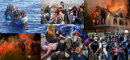 Die schreckliche Situation der Flüchtlinge in Europa - 31 Aug 15