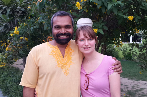 Ashram Life at the Start of a Season - Friends coming and going! - 6 Sep 15
