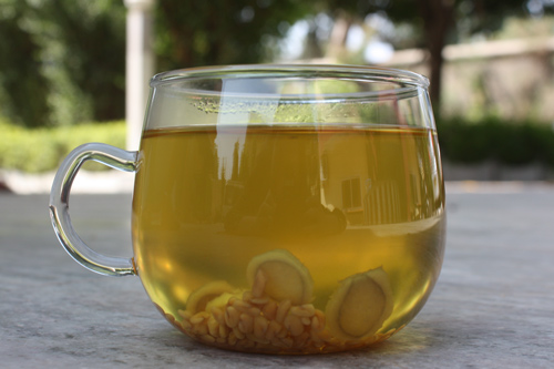 Vata Tea - Recipe for Ginger Fenugreek Tea against Joint Pain and Gas Problems - 10 Oct 15
