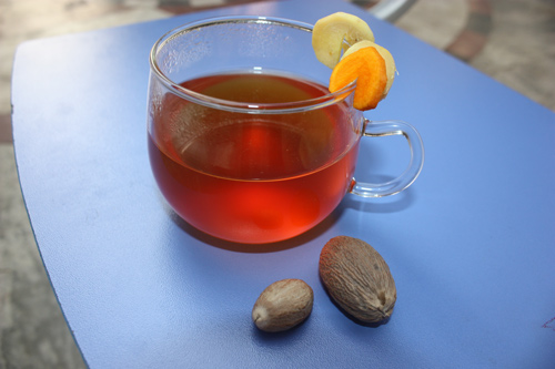 Kapha Tea - Recipe for Ginger Turmeric Tea against the common Cold - 24 Oct 15