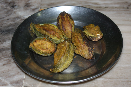 Bharwa Karela - Recipe for Stuffed Bitter Gourd - 31 Oct 15