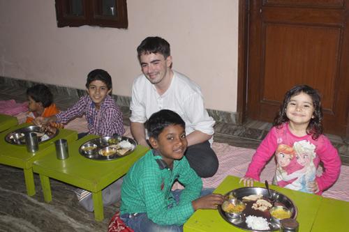 When Ashram Guests get involved in Ashram Life - 20 Dec 15
