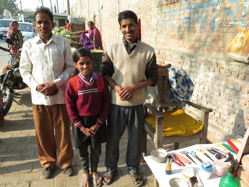 When a barber has five Children in order to have Sons - Our School Children - 15 Jan 16