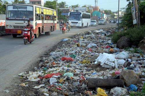 Das stinkige, verschmutzte Delhi macht mir Kopfschmerzen – 31 Jan 16